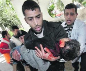 الحرب علي غزة