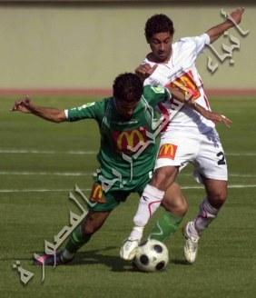 مباراة الاوليمبي الاخيرة في دوري الاضواء مع المصري في المكس