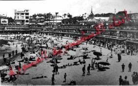 شاطئ ستانلي منذ مائة عام تقريبا