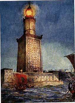 فنار الاسكندرية القديم