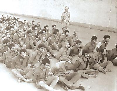 ارشيفية لاسري اسرائليين في حرب اكتوبر
