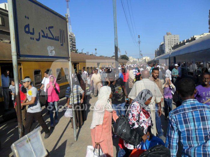 رحلة قطار النوبة تبدأ من الاسكندرية