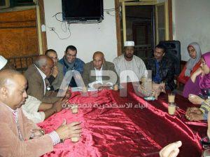 لقاء جمعيتي دنقلا و نوب في نادي الكنوز العام بالاسكندرية