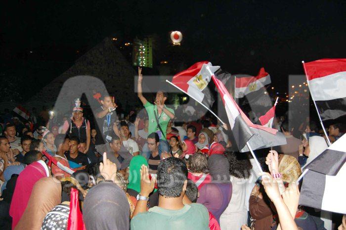 الالاف من ابناء الاسكندرية خرجوا للاحتفال بفوز السيسي