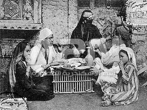 افطار اسري زمان