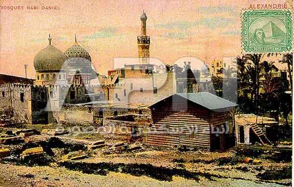مسجد النبي دانيال قديما