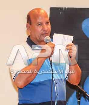 محمود قطب مدير قصر ثقافة الشاطبي