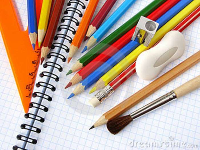 ادوات مدرسية - ارشيفية