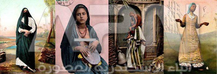 سيدات مصر قديما - الوان  copy