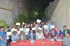 الدفعة الثانية من طلاب اكاديمية الاعلام بالاسكندرية