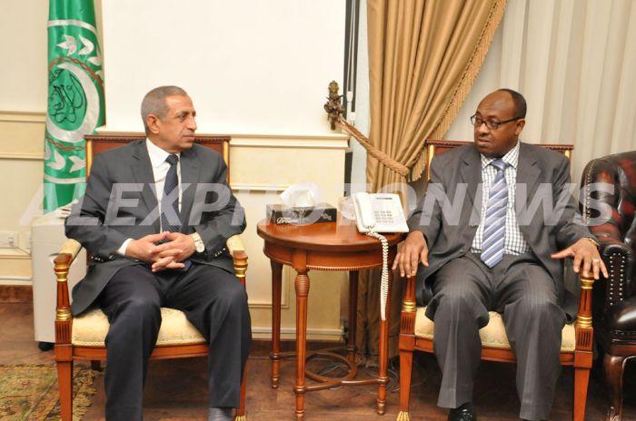 وفد اثيوبي بالاكاديمية