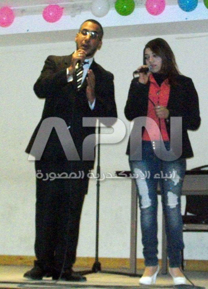 محمد ابو عوف و نورهان محمود في فاصل غنائي مشترك
